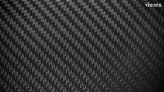Vicrez Vinyl Car Wrap Film vzv10101 Matte Black Dry Carbon Fiber 5ft x 25ft