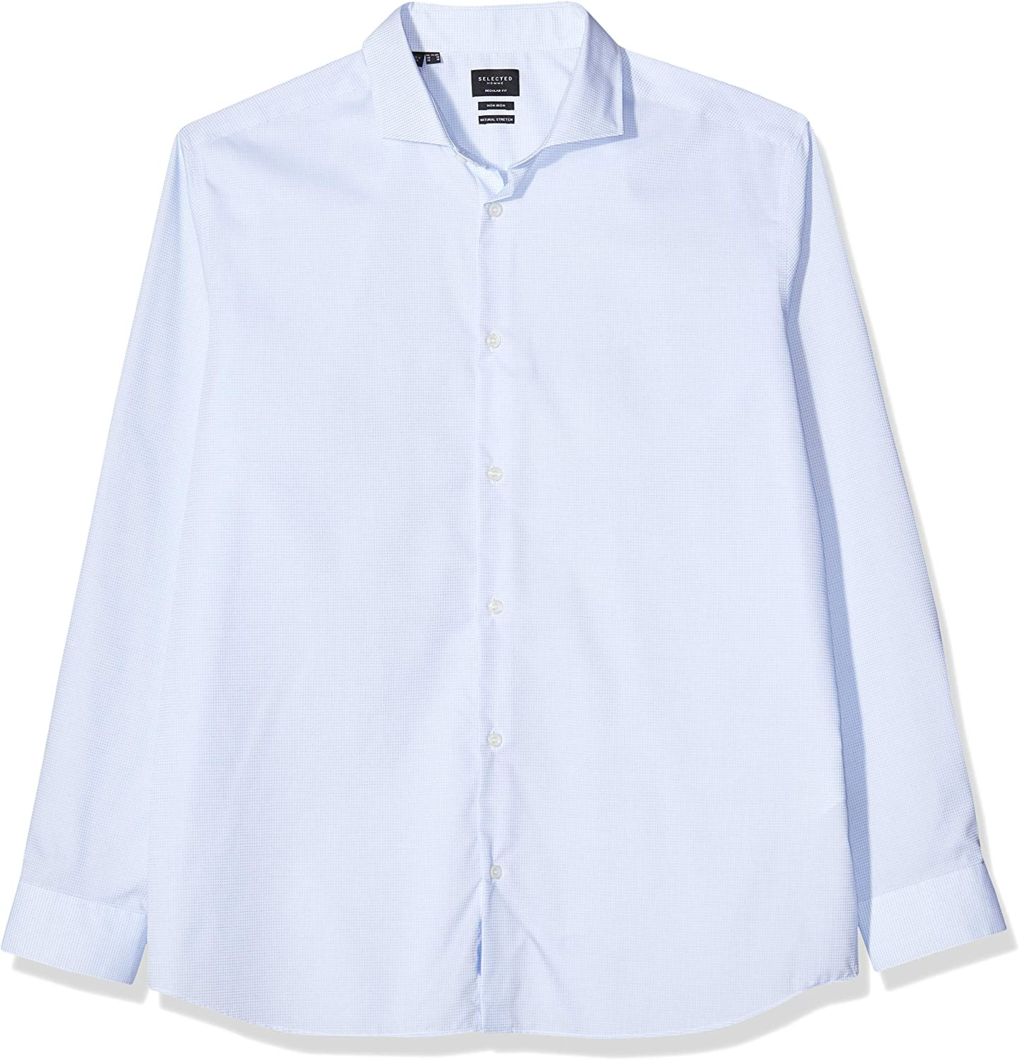 SELECTED HOMME Slhregsel-alli Shirt LS B Noos Camisa para Hombre