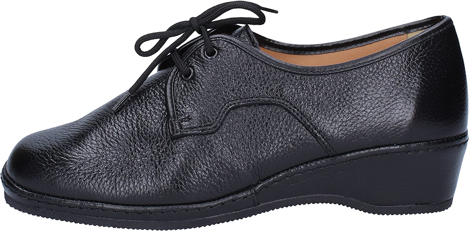 SUSIMODA Oxfords-shoes Womens Leather Black