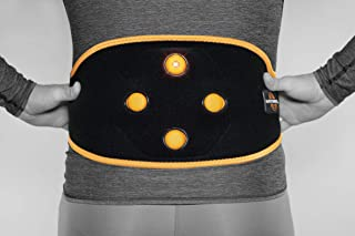 Myovolt Wearable Massage Technology for Back & CORE/Vibration Therapy Device/Warm up, Loosen, and Relax Sore & Stiff Muscles/Back Pain Relief