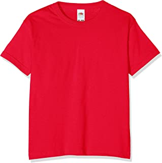 Fruit of the Loom Childrens Valueweight Short Sleeve T-Shirt