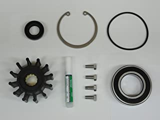 StayCoolPumps Premium Stainless 1999-2005 Volvo Penta Gas Sterndrive Raw Water Pump Repair Rebuild Kit Crankshaft Mounted