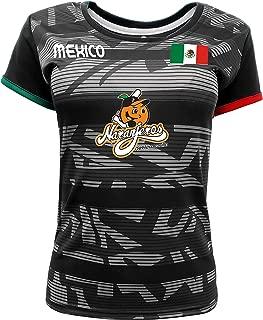 Women Jersey Mexico Naranjeros de Hermosillo 100% Polyester Black/Grey