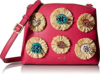 Nine West Levona Crossbody with Floral Pom
