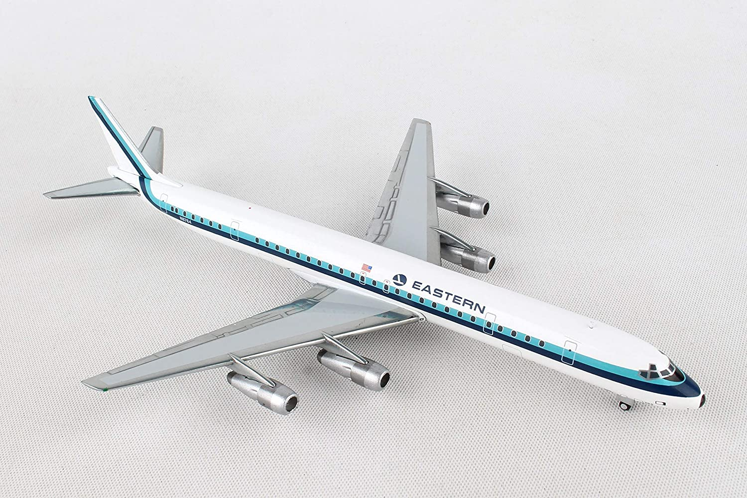 Gemini Jets Eastern Airlines 1 400 Scale Diecast Model Airplane, White