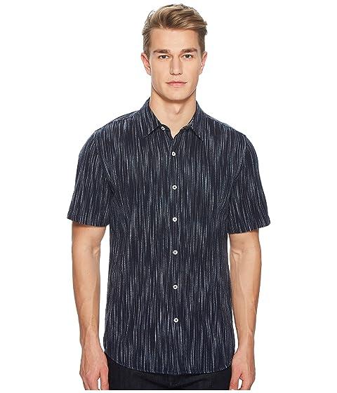 BALDWIN Buena Stripe Short Sleeve Shirt