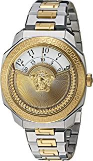 Versace Women's Dylos Icon Swiss-Quartz Watch with Two-Tone-Stainless-Steel Strap, 174 (Model: VQU040015)