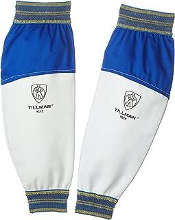 Tillman 9215 Goatskin / FR Leather Goatskin and Cotton Protective Welding Sleeves, 1 Pair