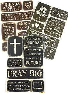 Faith, Family, Devotional & Inspirational Stickers kit | Scrapbook Stickers Family & Faith Theme | Memories Scrapbooking Embellishments