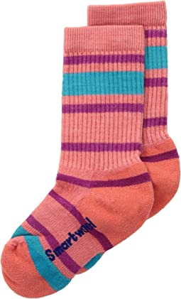 Smartwool - Striped Hike Light Crew (Toddler/Little Kid/Big Kid)