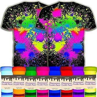 Amazon It Vernice Fluorescente Colori Per Tessuti E Stoffe Pittura E Tintura Tessuti Casa E Cucina