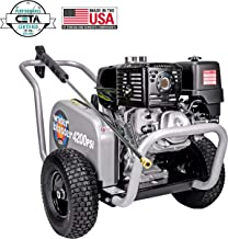 SIMPSON Cleaning Simpson 60205 WaterBlaster 4200 PSI 4.0 GPM Gas Pressure Washer, Honda, 3.5, Black