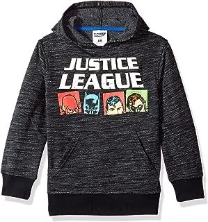 Boys' Big Justice League Fleece Pullover Hoodie