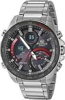 Casio Men's Edifice Quartz Watch with Stainless-Steel Strap, Silver, 21 (Model: ECB-900DB-1ACF)