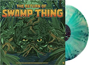 The Return Of Swamp Thing Original Soundtrack Exclusive 'Glow in the Dark Swamp Green' Vinyl