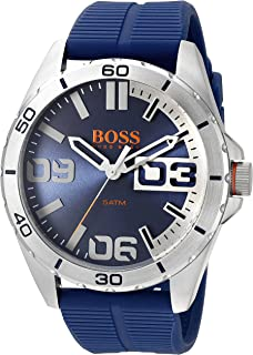 Orange Men's 1513286 berlin Analog Display Quartz Blue Watch
