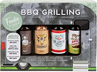 Modern Gourmet Foods, Grilling BBQ Sauce Set, Flavours Include St. Louis BBQ Sauce, Spicy Chipotle BBQ Sauce and More, Pac...
