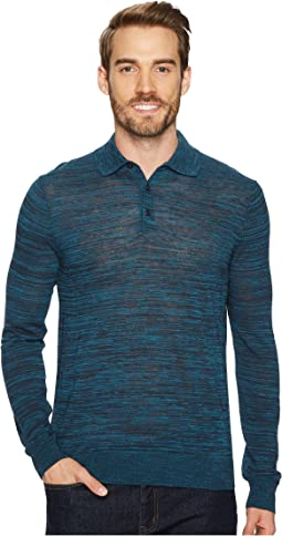 Perry Ellis - Space Dyed Sweater Polo