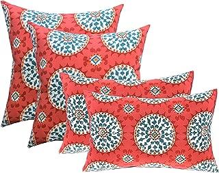 RSH DECOR Set of 4 Indoor/Outdoor Pillows - 17