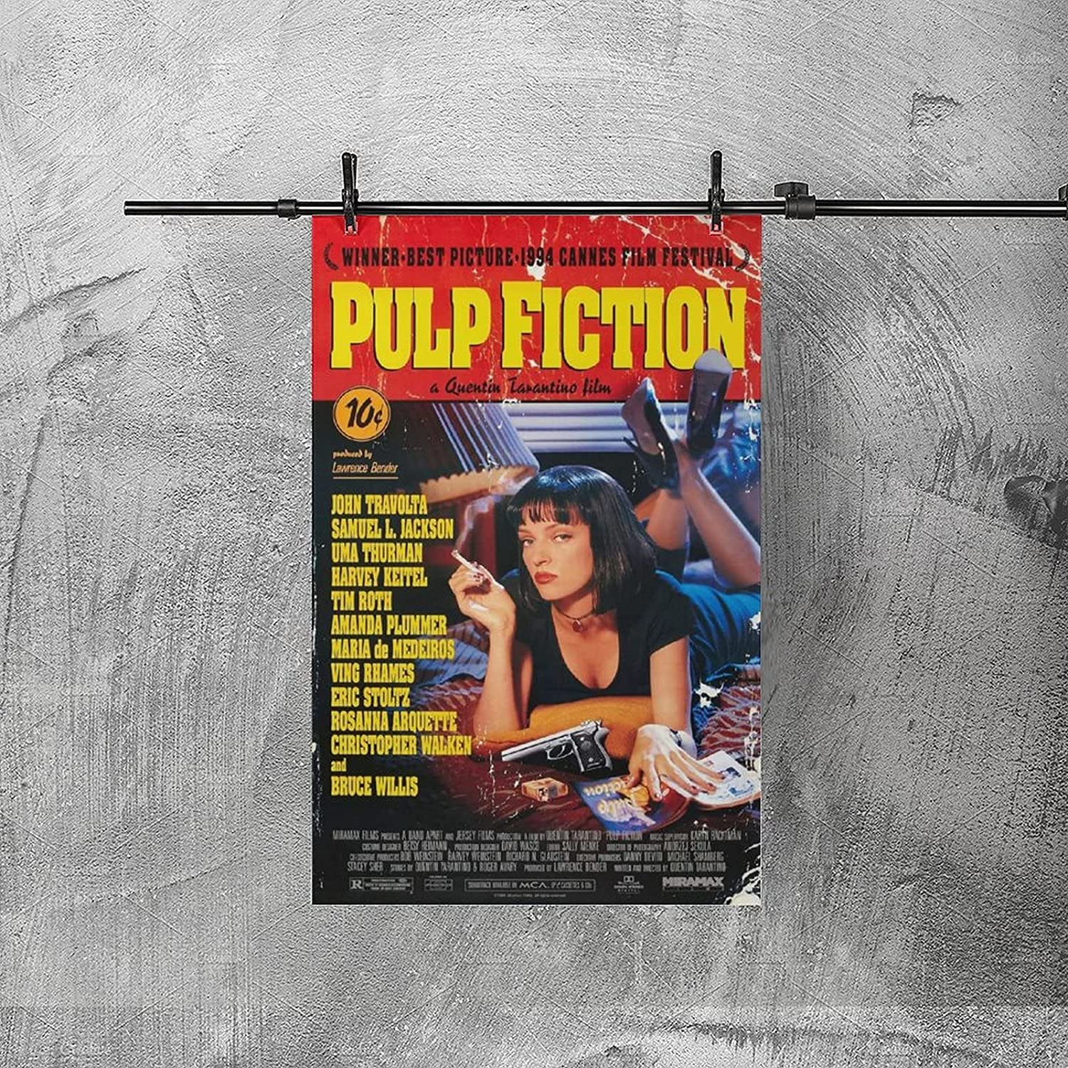 Buy Pulp Fiction Movies Poster Poster HD Printed Painting Canvas ...
