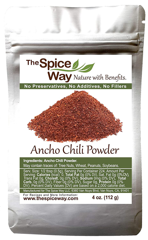 The Spice Way 55% OFF Regular dealer Premium Ancho Chile - m powder 4 Pure chili oz