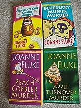 Joanne Fluke (A Hannah Swensen Mystery) Collection: Chocolate Chip Cookie Murder+Blueberry Muffin Murder+Peach Cobbler Mur...