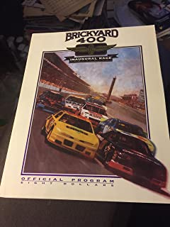brickyard 400 inaugural race official program magazine august 6 1994