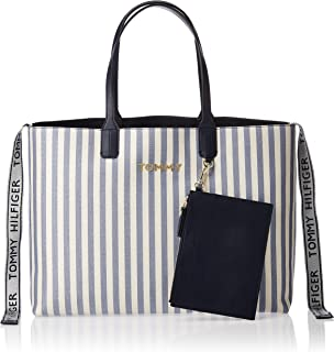 Tommy Hilfiger Tote Bag for Women-Canvas glitter