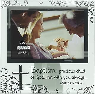 Malden International Designs Baptism Photo Frames