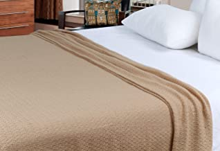 KRP HOME 100% COTTON, Soft Premium Thermal Blanket/Throw Lightweight and Breathable Mosaic Weave - Perfect for Layering An...