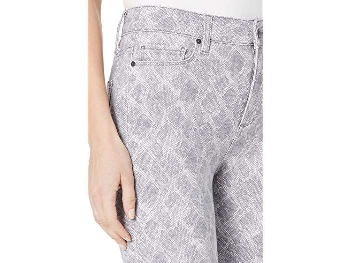 Paige Hoxton Slim Outseam Slit In Periscope Viper Jeans