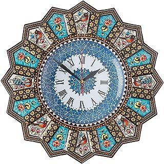 LPUK Reloj de pared de lujo Khatam, colección 1, reloj de s
