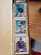 1984 Fleer Complete Baseball Set (660 Cards) (Don Mattingly Rookie) (Darryl Strawberry Rookie) (Ryne Sandberg) (Wade Boggs) (Tony Gwynn) (Cal Ripken Jr.) (Pete Rose) (Mike Schmidt) (Carl Yastrzemski) (George Brett) (Robin Yount) (Dave Parker) (Steve Garvey) (Andre Dawson)