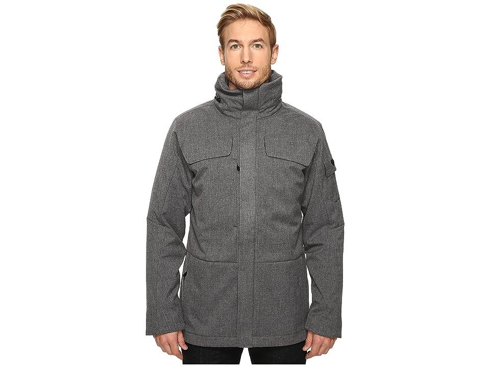 Obermeyer Sequence System Jacket (Charcoal) Men's Coat