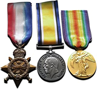 WW1 Medals Trio 1914-15 Star, War & Victory Medal New Repro