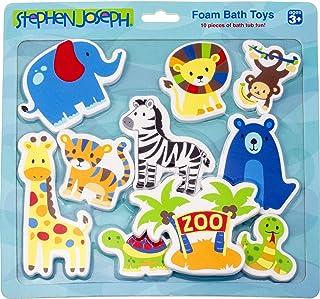 Stephen Joseph SJ114834 Foam Bath Toy, Zoo