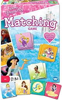 Wonder Forge Disney Princess Matching Game For Girls & Boys Age 3 To 5 - A Fun & Fast Princess Memory Game