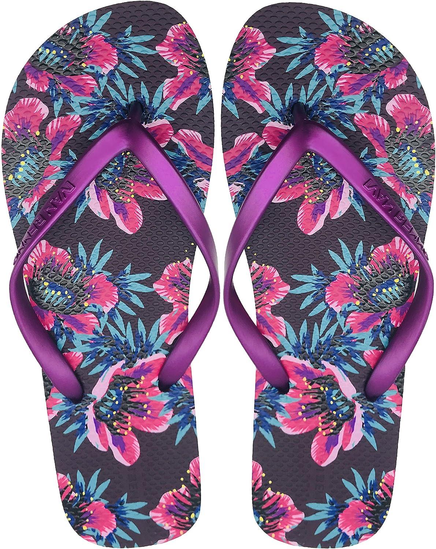 Finoceans Men's Flip Flops Tong Comfort Beach Athletic Sandals Slipper shoes