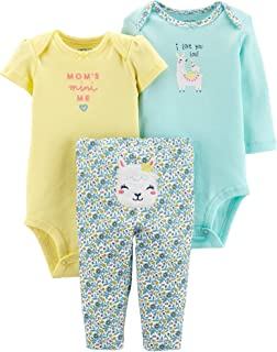 Baby Girls 3-pc. Mom's Mini Me Layette Set