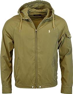 Men's Clothing Polo Jeans Company Ralph Lauren Windbreaker Men's Medium Ripstop Full Zip Brown Buy Now