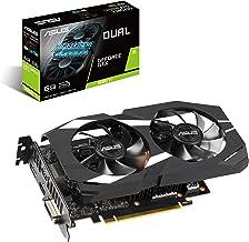 ASUS GeForce GTX 1660 Ti 6GB Dual-fan Standard Edition VR Ready Dual HDMI DP 1.4 Gaming Graphics Card (Dual-GTX1660TI-6G)