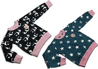 Michael's Originals 中性款幼儿 2 件套运动衫(3岁,猫-深蓝色)