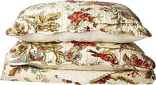 Patch Magic Finch Orchard Queen Bed Skirt, Ochre