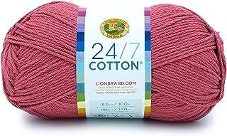 Lion Brand Yarn 24-7 Cotton yarn, Terracotta