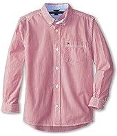 Tommy Hilfiger Kids - Tommy Stripe Shirt (Toddler/Little Kids)