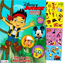 Disney Junior Gigantic Coloring Book For Boys with Stickers (224 Pages, Featuring Mickey Mouse, Jake and the Never Land Pirates, Handy Manny, and Special Agent Oso)