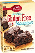 Betty Crocker Baking Mix, Gluten Free Brownie Mix, Chocolate, 16 Oz Box (Pack of 6)