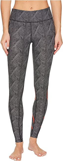 2XU - Mid-Rise Print Compression Tights w/ Storage