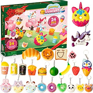 JOYIN Advent Calendar 2020, Christmas Countdown with 24 Scented Slow-Rising Squishies for Christmas Countdown Calendar, As...
