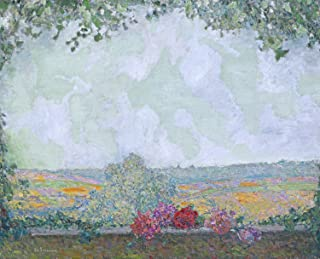 Odsan Gallery View From The Terrace - By Henri Le Sidaner - Giclee Canvas Prints 20